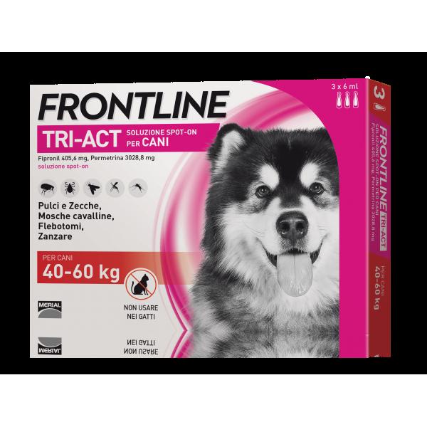 Frontline Tri Act 40 - 60 kg Antiparassitario Per Cane