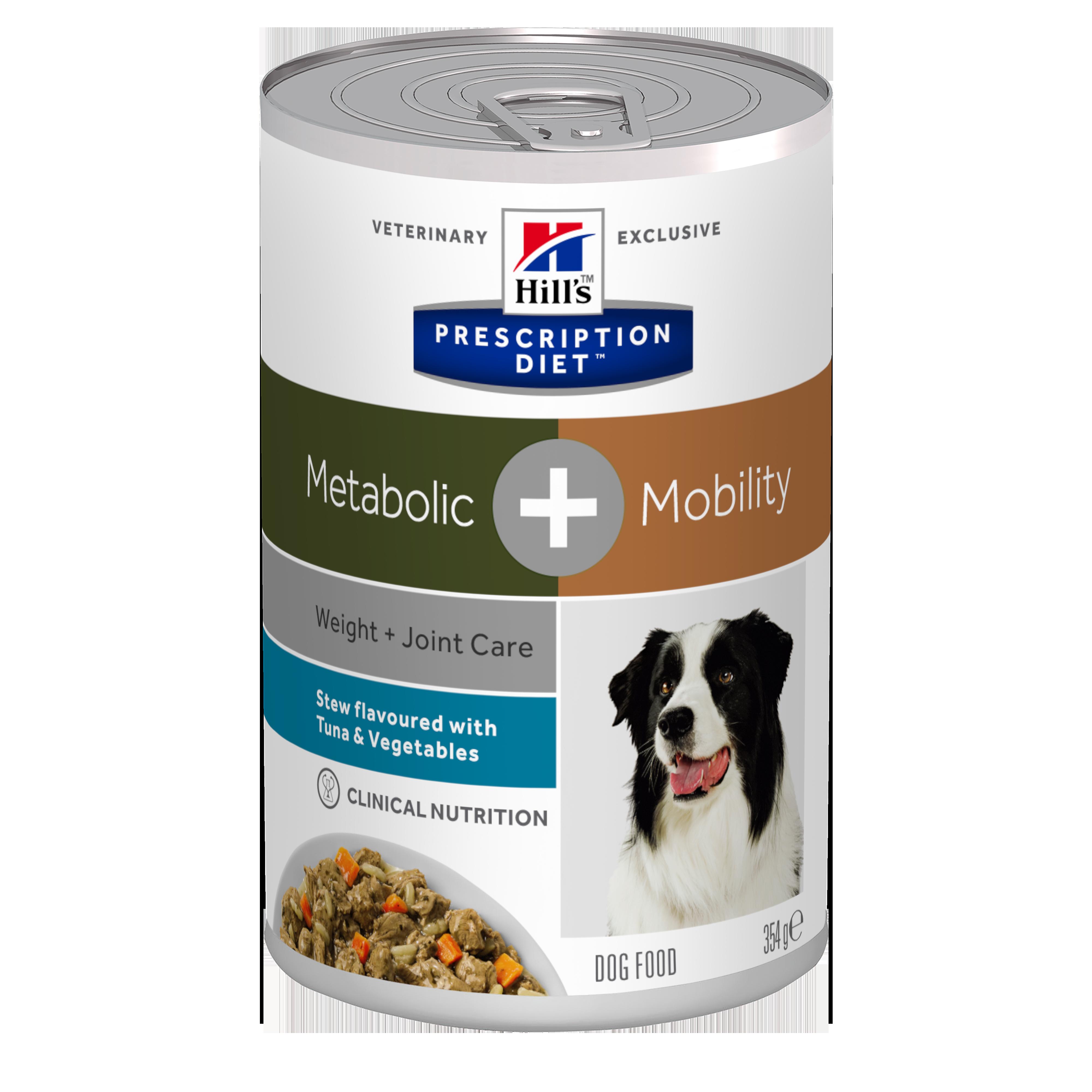 Hill's Metabolic Stew 354 gr Spezzatino Pollo e Verdure Umido Per Cane