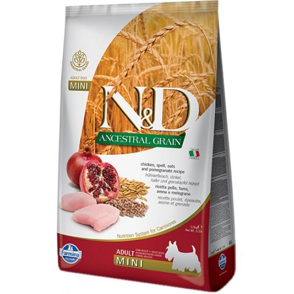 Farmina N/D Ancestral Low Grain Puppy Medium Maxi Agnello Mirtillo