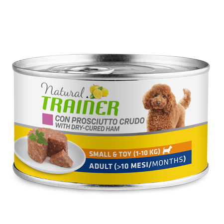 Natural Trainer Puppy Junior Medium Maxi Pollo 400 gr Umido Cane