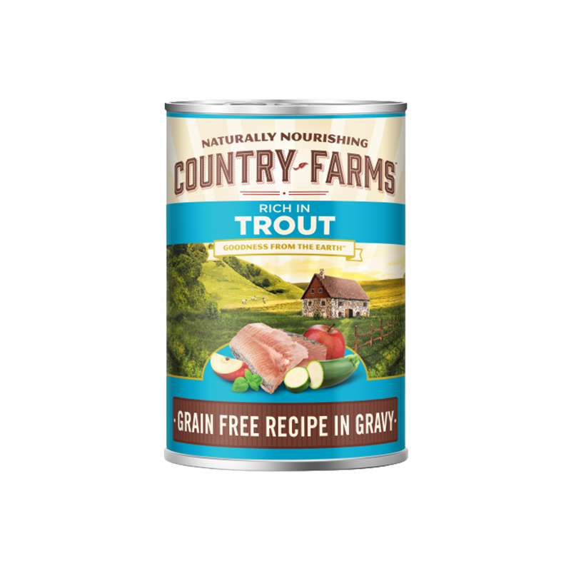 Purina Country Farms Dog Grain Free Gravy Pollo 400 Gr Barattolo Umido Cane